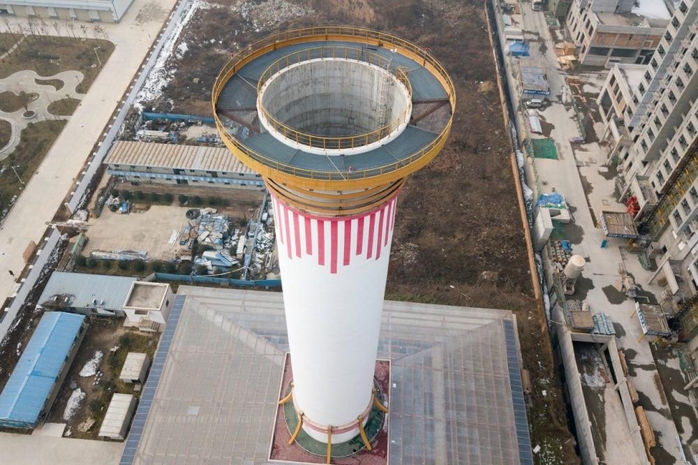 In Cina il più grande purificatore d'aria è una torre alta 100 metri